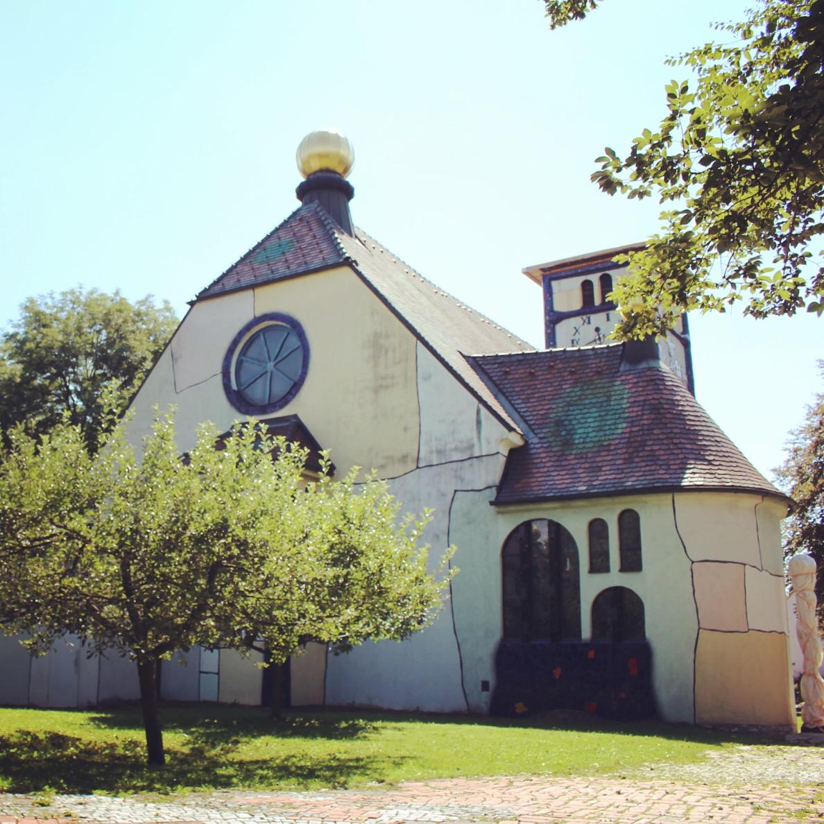 Kościów Św. Barbary, Bärnbach