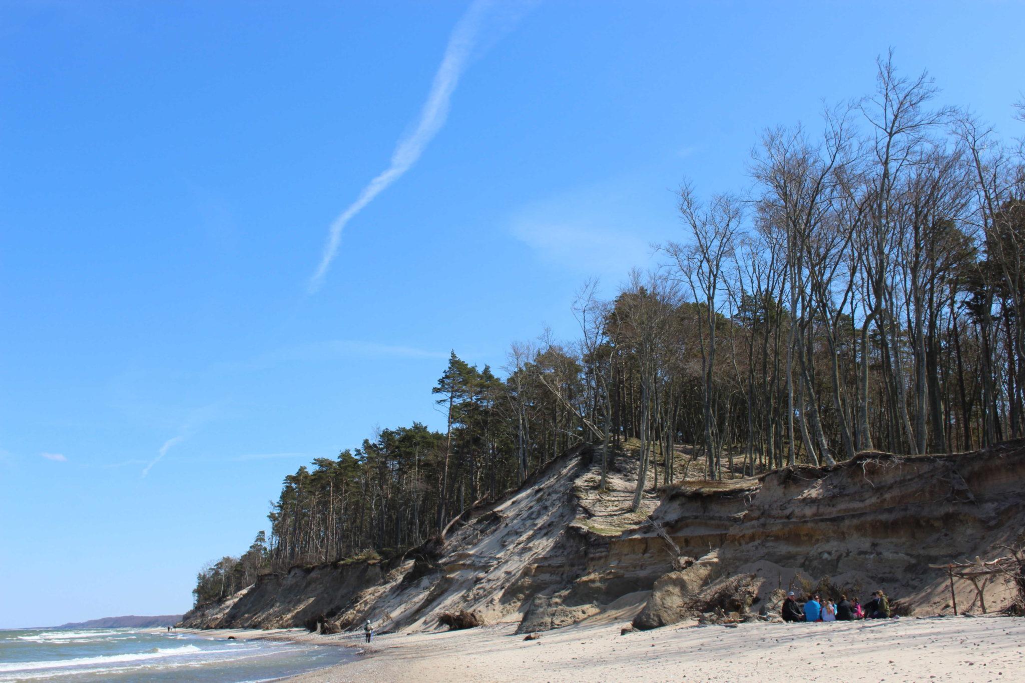 Orzechowo Morskie – plaża, dzika plaża…