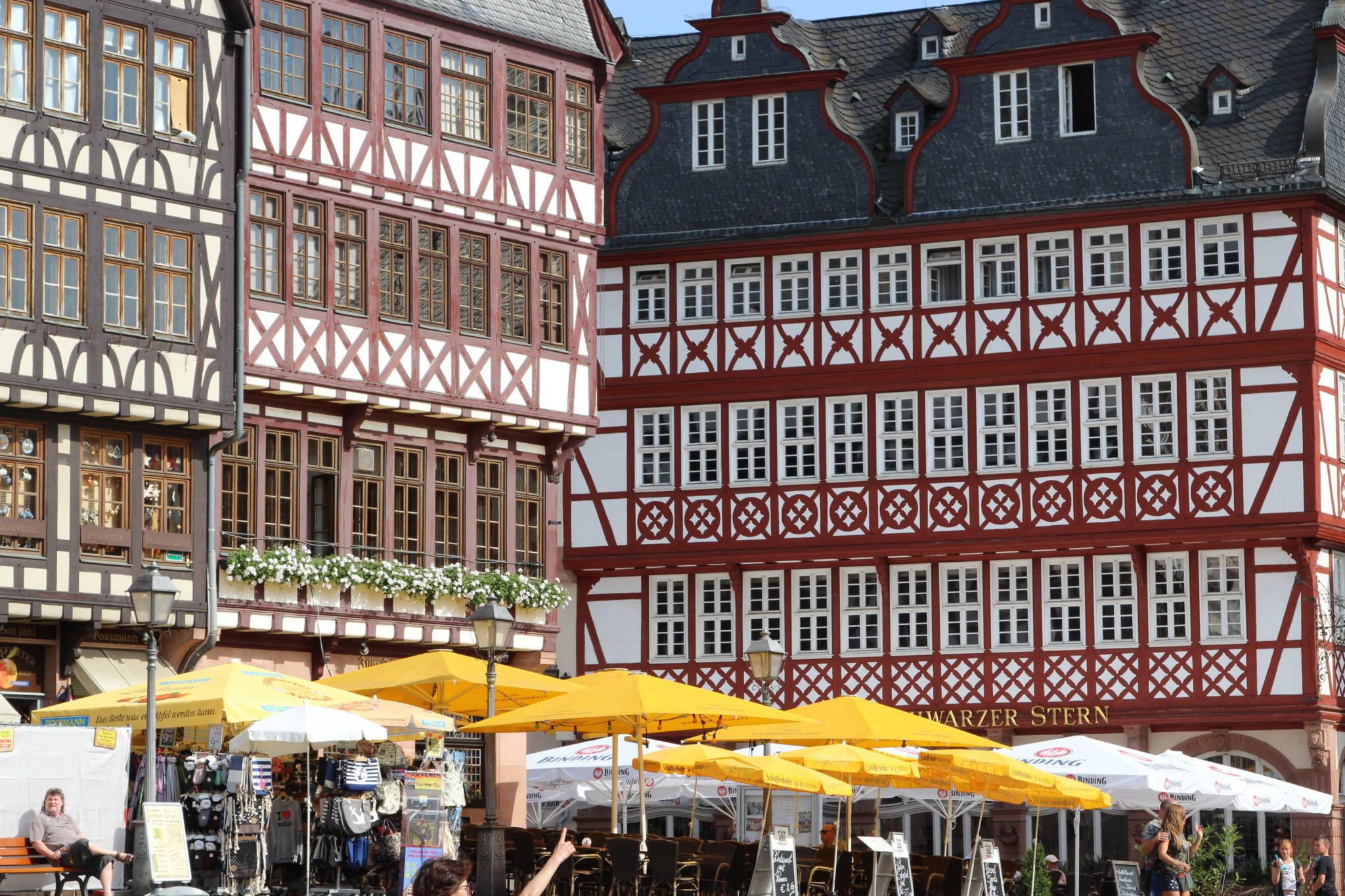 Zwiedzanie Frankfurtu