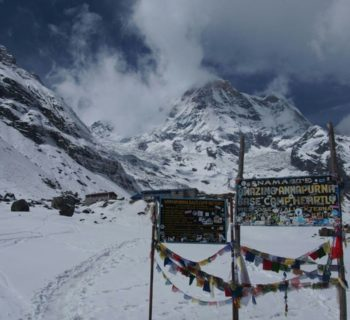 Trekking do Annapurna Base Camp i Mardi Himal Base Camp