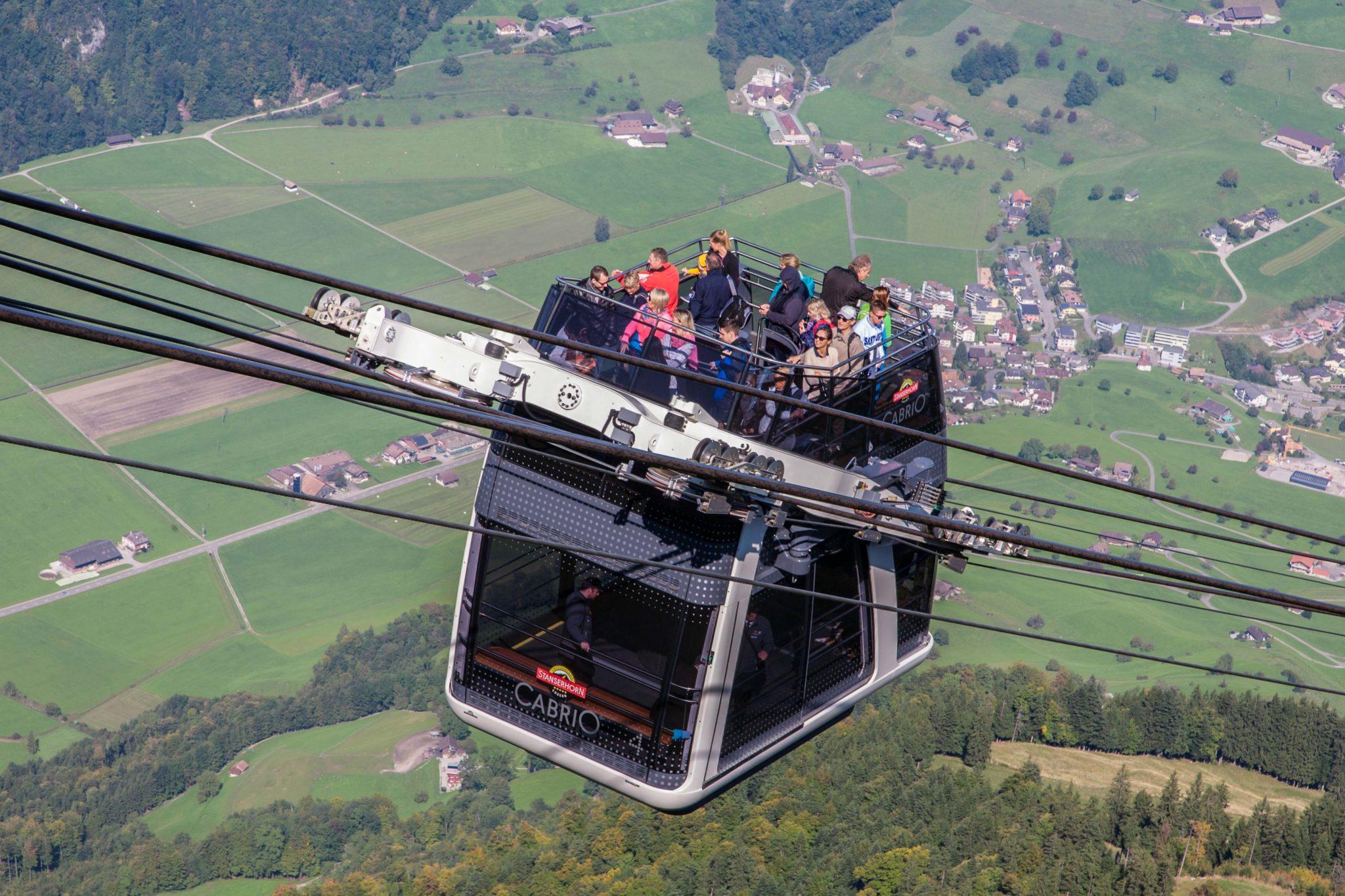 Kolejka na Stanserhorn