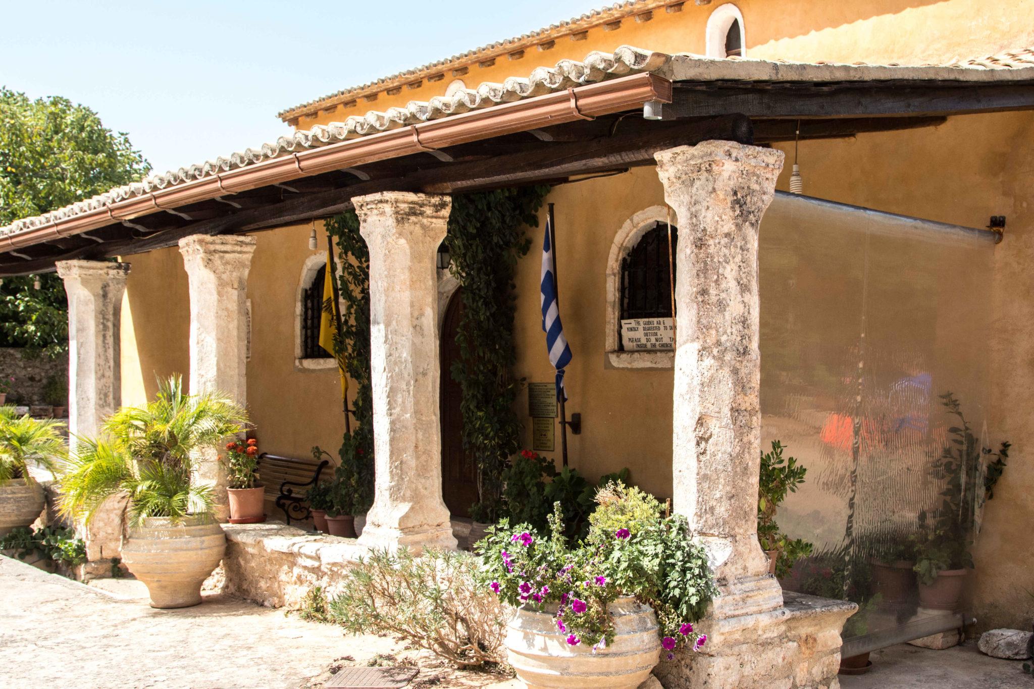 Monastyr w Anafonitrii