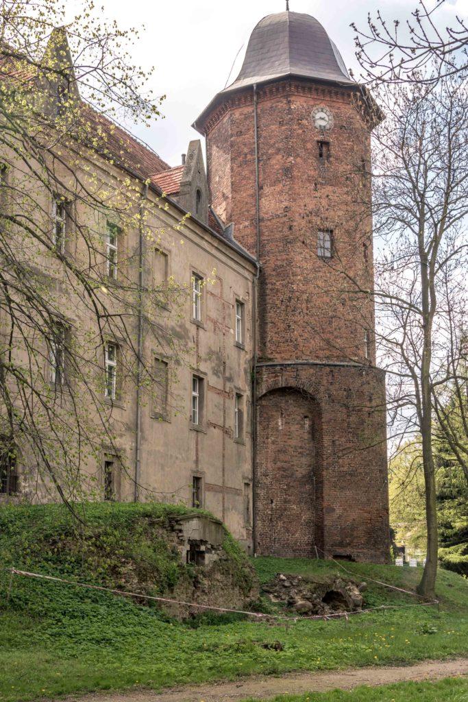 Zamek w Koźminie Wielkpolskim