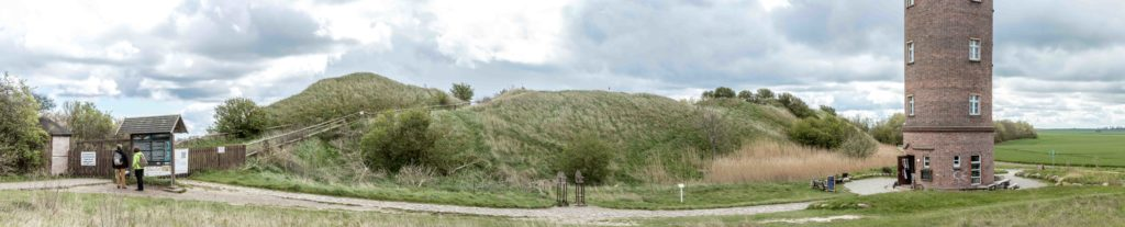 Gród słowiański na Przylądku Arkona