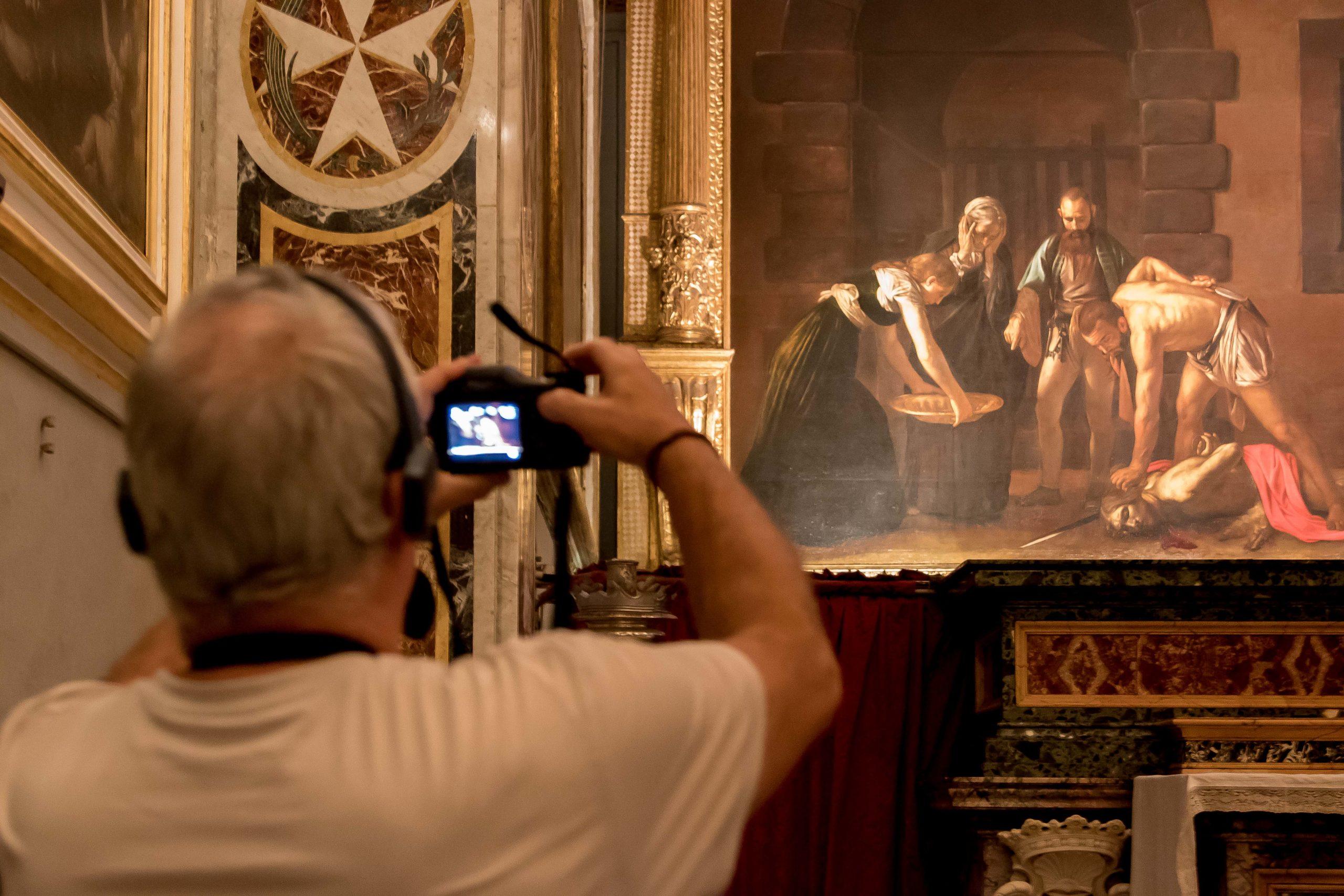 Caravaggio na Malcie