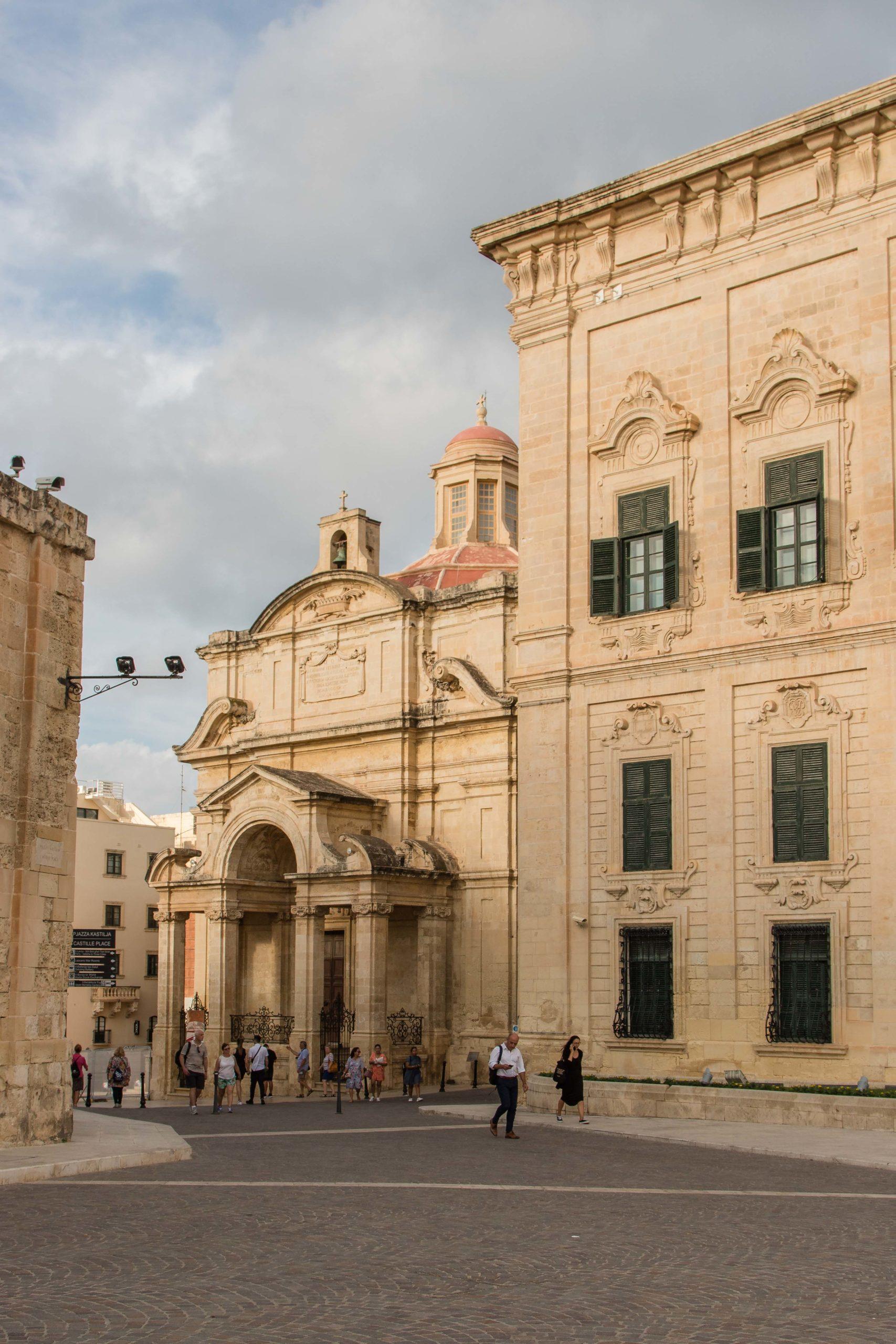 Kościół Św. Katarzyny Aleksandryjskiej w Valletcie